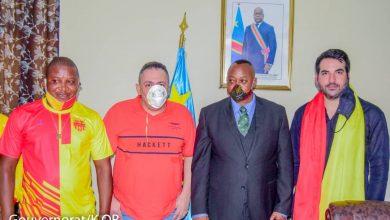 Photo de Sanga Balende : Arrivée triomphante du président Alexis Fatih à Mbuji Mayi