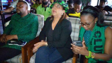 Photo de Vclub: Absente au stade des Martyrs, Bestine Kazadi a célébré sa première réussite depuis l'intérieur